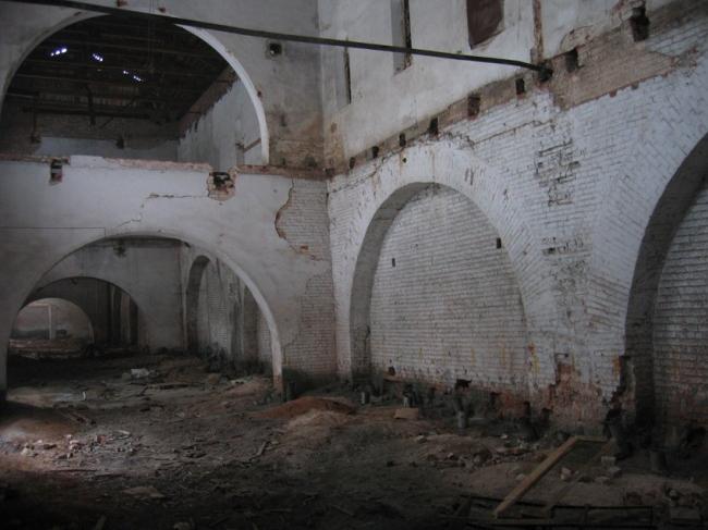 Филиал ГЦСИ в здании Арсенала в Нижнем Новгороде. Подготовка к реконструкции © Архитекторы Асс