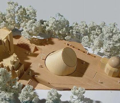 Планетарий Королевской Обсерватории в Гринвиче. Макет