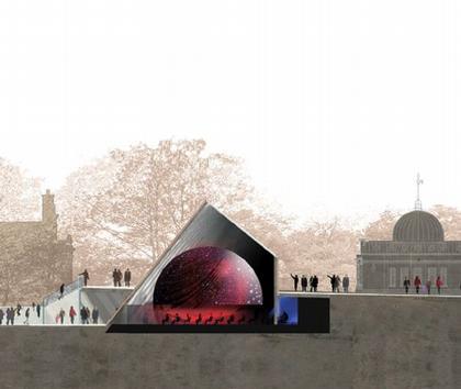 Планетарий Королевской Обсерватории в Гринвиче. Проект