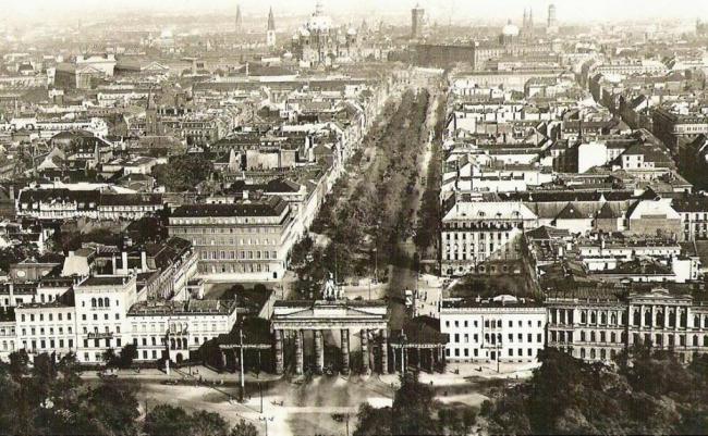 Берлин в 1910 году. Фотография предоставлена автором