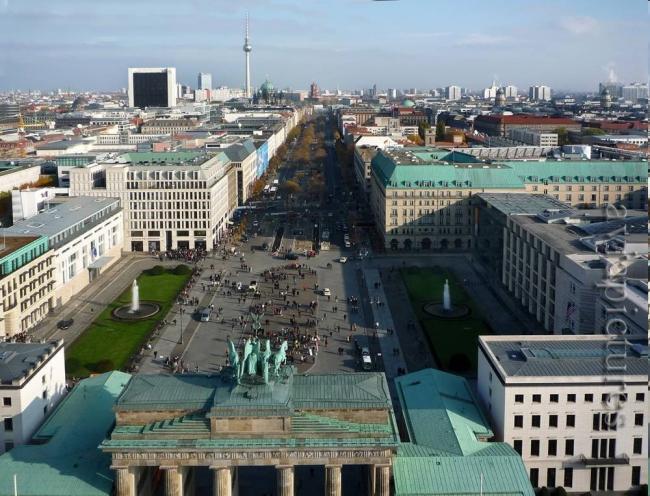 Берлин в 2010 году. Фотография: aviapictures.com