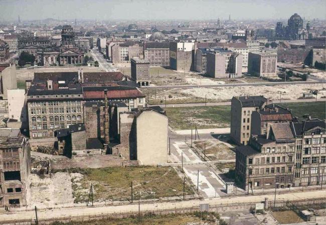 Фридрихштадт в конце 1960-х годов. Фотография предоставлена автором