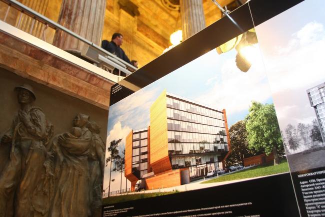 На 4-й Петербургской архитектурной биеннале. Фото Игоря Бакустина