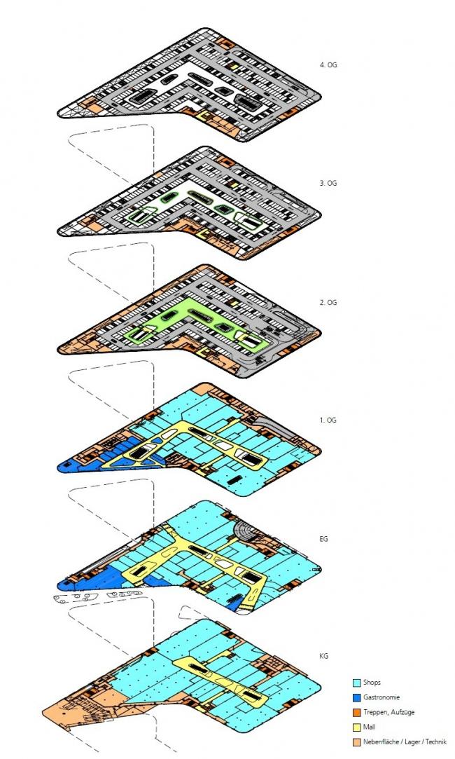 Реконструкция Центральной площади в Кобленце в Кобленце © Benthem Crouwel Architects