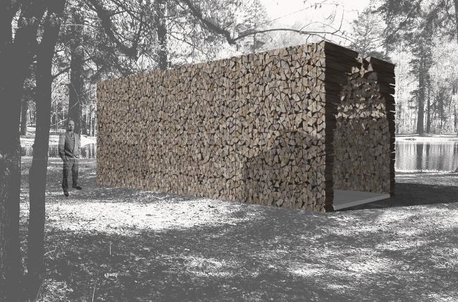 Проект «На Дрова» (Firewood). Изображение предоставлено организаторами конкурса.