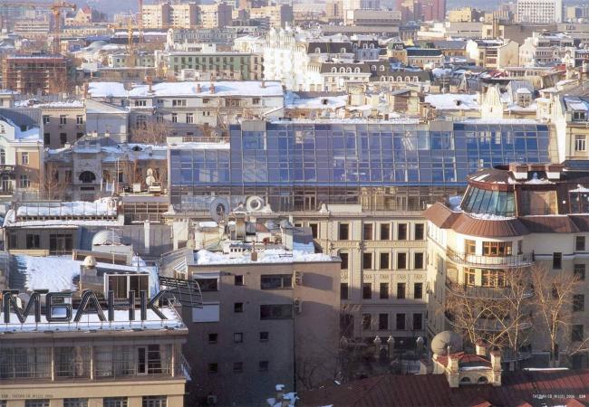 Крыши Остоженки. Фотография из журнала Проект Россия