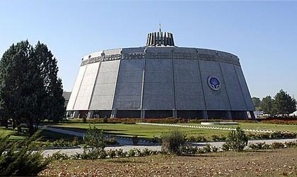 Киноконцертный зал в г. Душанбе, Таджикистан. Фото предоставлено организаторами выставки «Город Солнца. Архитектура коммунизма»