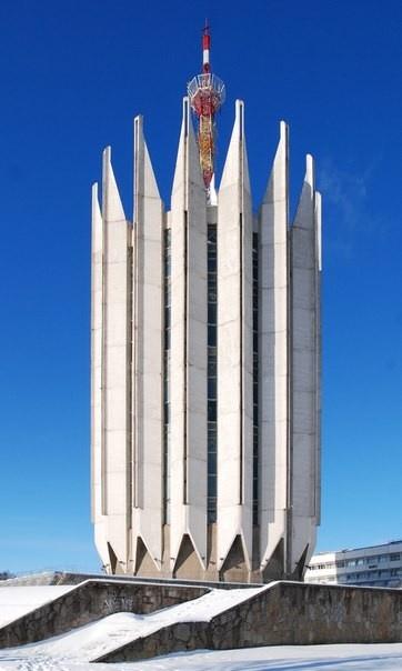 Институт робототехники, г. Санкт-Петербург. Фото предоставлено организаторами выставки «Город Солнца. Архитектура коммунизма»