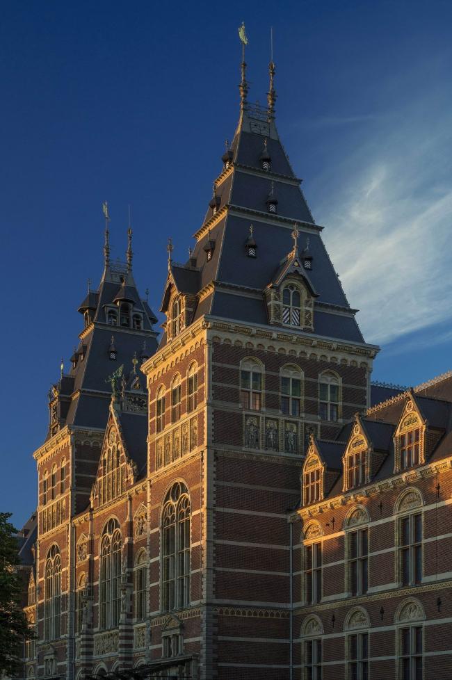 Рейксмузеум - реконструкция © Rijksmuseum