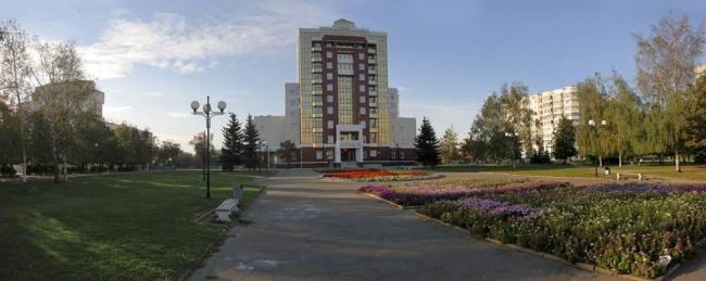 Вид со стороны площади Победы - реализация