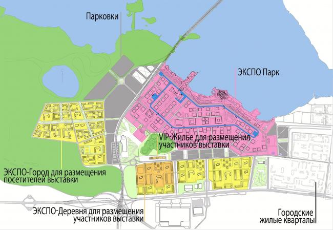 План на время проведения выставки