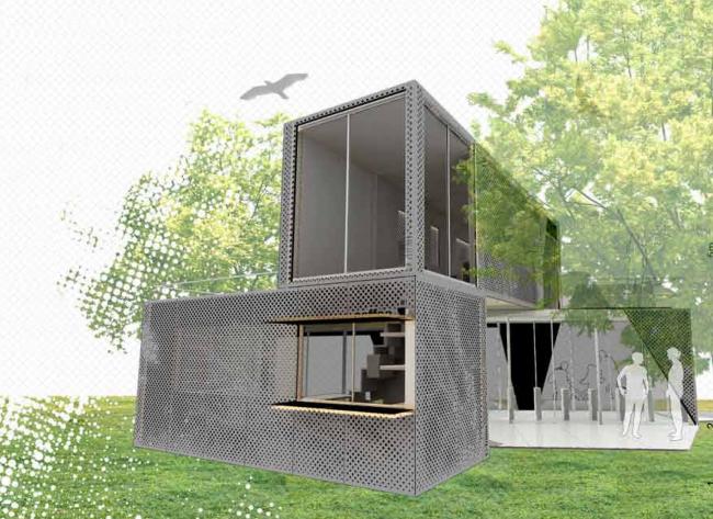 Победитель зрительского голосования. Проект CG2BP. Авторы: Ignacio Chavero Garcia, Roberto Banos Pantoja и Alvaro Borrego Plata. Иллюстрация: www.trimo-urbancrash.com