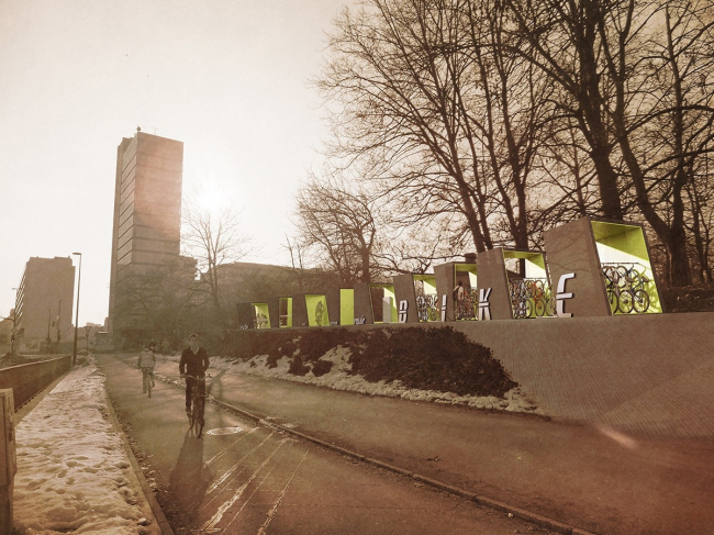 3-место по версии жюри. Проект 14034. Автор: Malgorzata Wawrzyniak. Иллюстрация: www.trimo-urbancrash.com