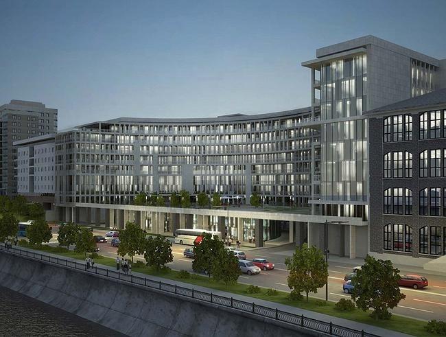 Проект жилого комплекса на Саввинской набережной