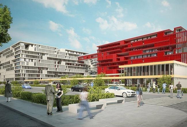 Конкурсный проект жилого комплекса на 1-й улице Бухвостова в Москве