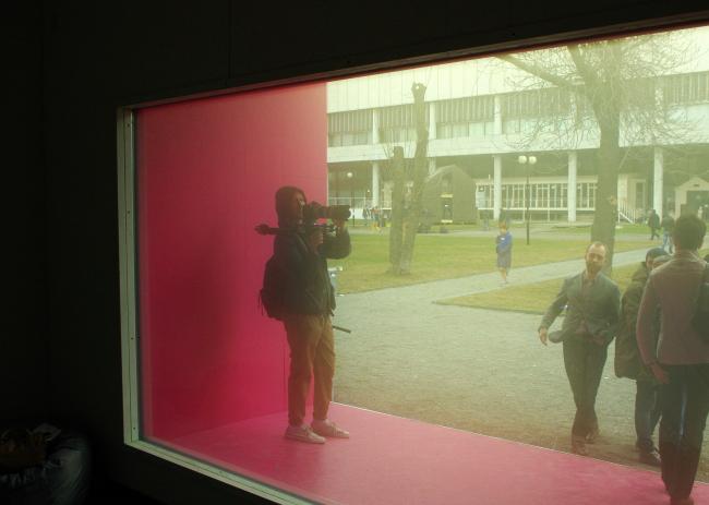 «Микро-дом, где идет дождь». Команда ProPolis. Фотография Аллы Павликовой