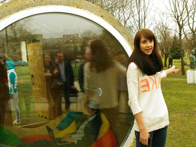 """Анастасия Анисина о проекте """"d-2000"""". Фотография Аллы Павликовой"""