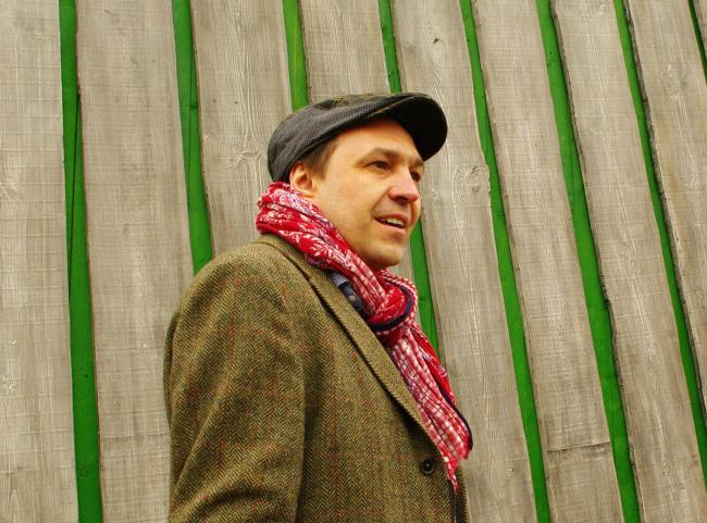 Денис Дементьев, автор проекта микроотеля «Крона».  Фотография Аллы Павликовой
