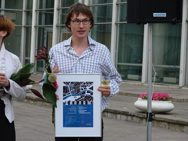 Антон Кочуркин, куратор проекта «Вертикальный город». фото Юлии Тарабариной