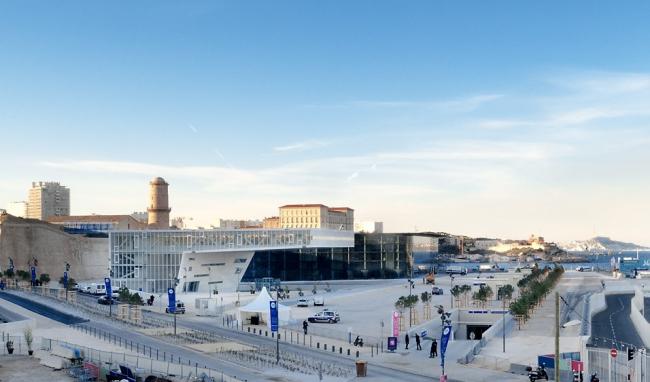 Международный центр Villa Méditerranée © Carlo Alberto Mari