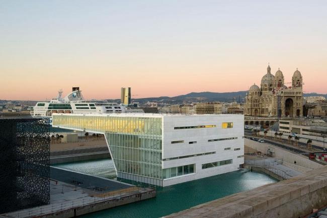 Международный центр Villa Méditerranée © Paolo Rosselli