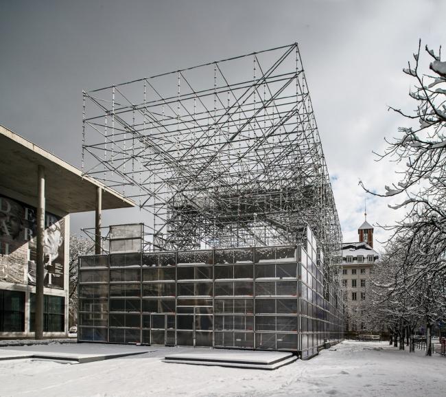 Павильон Schaustelle. Фото: Rainer Viertlböck, 2013 © Fotograf / Pinakothek der Moderne