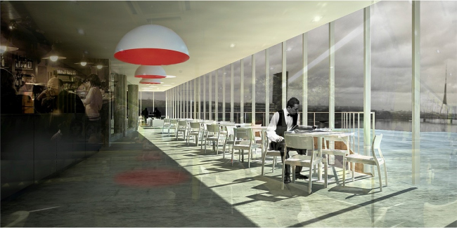 Реконструкция фабрики Carl Zeiss в Риге © INDIA Architects