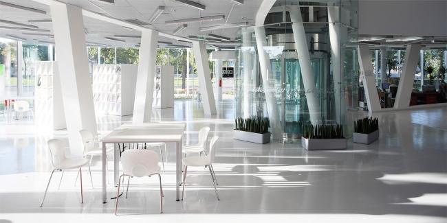 Библиотека Парвента в городе Вентспилс © INDIA Architects