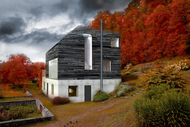 Дом стандарта low-energy house в Скривери © INDIA Architects