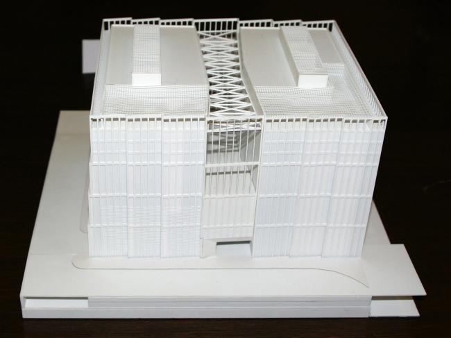 Проект архитектурной группы ДНК. Макет. Фотография Аллы Павликовой