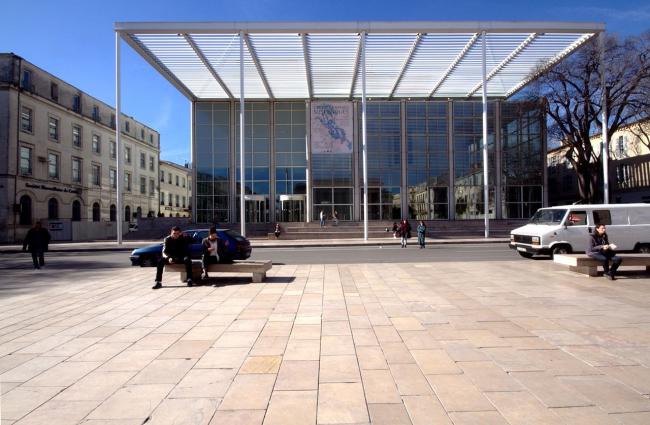 Carré d'Art - музей современного искусства. Фото: José Luiz Bernardes Ribeiro. Лицензия CC BY-SA 3.0