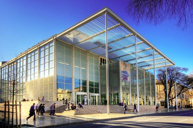 Carré d'Art - музей современного искусства. Фото: Wolfgang Staudt via Wikimedia Commons. Лицензия CC BY 2.0