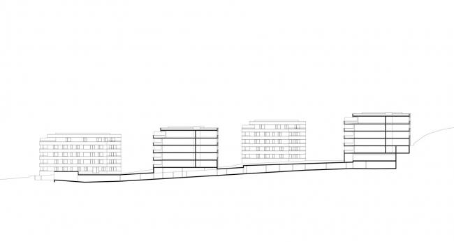 Жилой комплекс Siedlung © Baumschlager Eberle