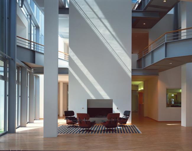 Vitra Center - штаб-квартира компании Vitra. Фото: Thomas Dix © Vitra (www.vitra.com)