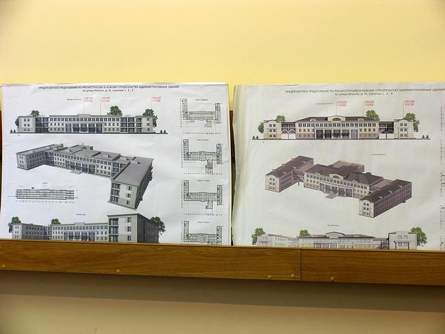 Проект реконструкции и нового строительства зданий на ул. Юности, 13, стр.1,2,3