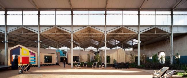 Комплекс Nave de Música Matadero в Мадриде, бюро Langarita-Navarro Arquitectos © Miguel de Guzman