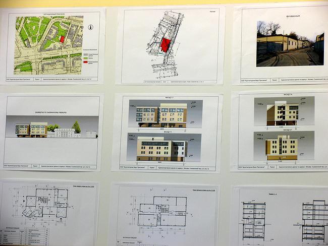 Проект регенерации административного здания в Съезжинском пер., 3, стр. 1-2