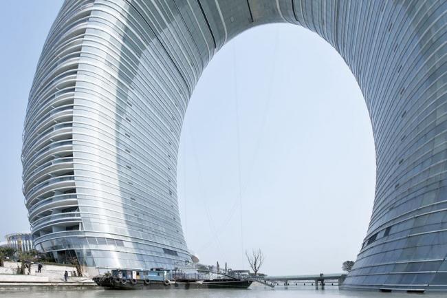 Sheraton Moon Hotel. Фото: Xia Zhi © MAD Architects