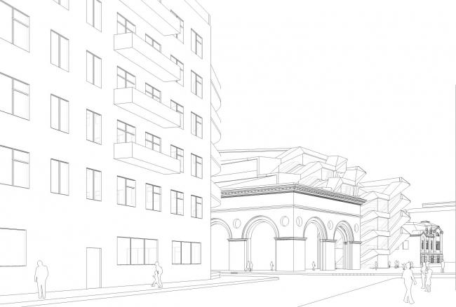 Первое место. Архитектурного бюро «Проект Меганом». Иллюстрация предоставлена организаторами конкурса.