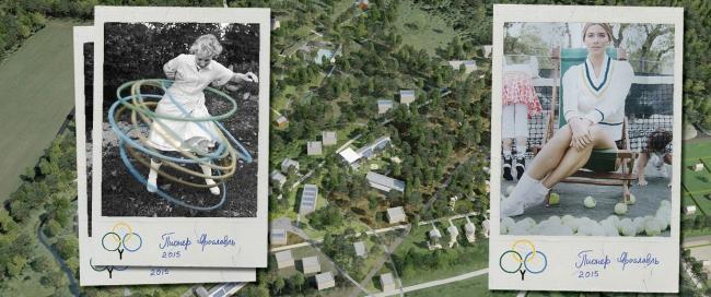 «Пионер-Курорт» близ Ярославля. Концепция брендинга и вид сверху © anOtherArchitect & TDI