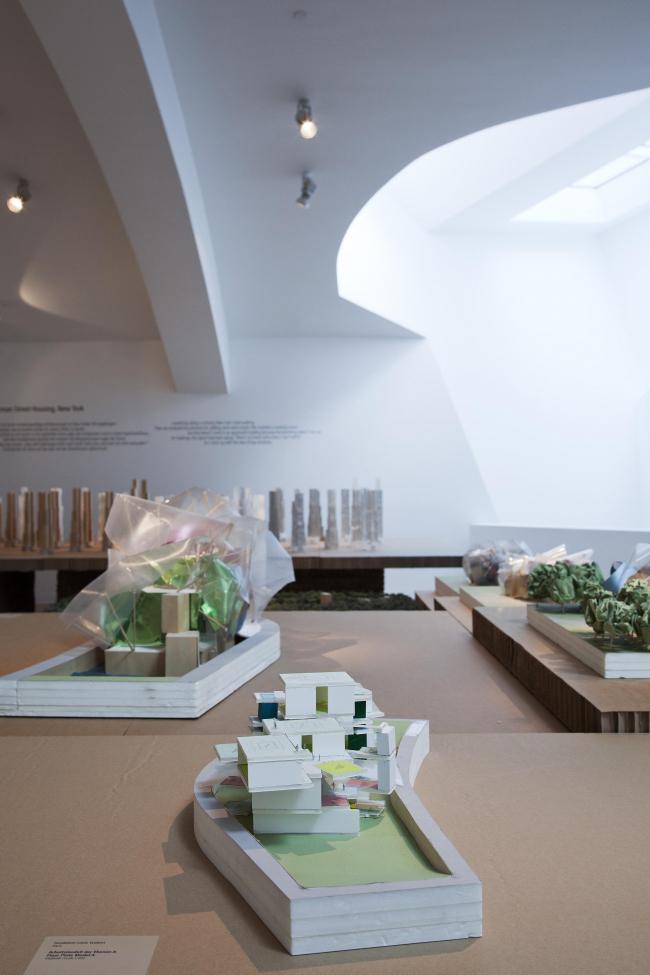 Музей дизайна Vitra. Вид выставки Фрэнка Гери. Фотограф Bettina Matthiessen © Vitra Design Museum