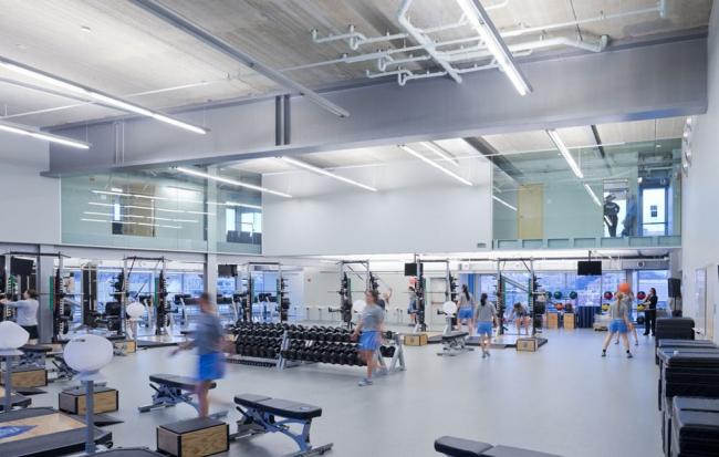 Спортивный центр Кэмпбелла Колумбийского университета © Iwan Baan