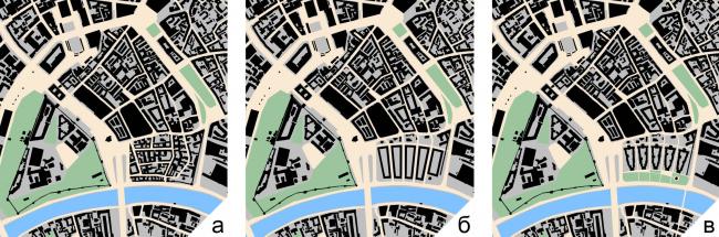 Рис. 7. Зарядье в структуре города