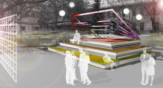 Проект inFA (factory of Architecture). Авторы: Анастасия Пуртова, Юлия Баранова, Екатерина Широкова. Иллюстрация предоставлена организаторами конкурса.
