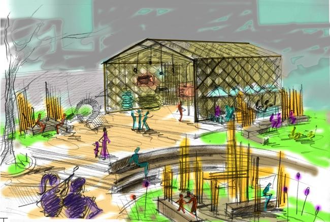 Проект Точка взаимодействия. Автор: Вера Колгашкина. Иллюстрация предоставлена организаторами конкурса.
