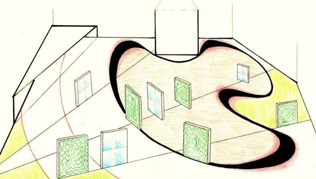 Проект Бесконечность. Авторы: Анастасия Юхневич, Кристина Кордюкова. Иллюстрация предоставлена организаторами конкурса.