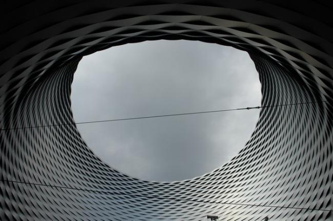 Herzog & de Meuron. Выставочный комплекс Messe Basel. Фото Нины Фроловой