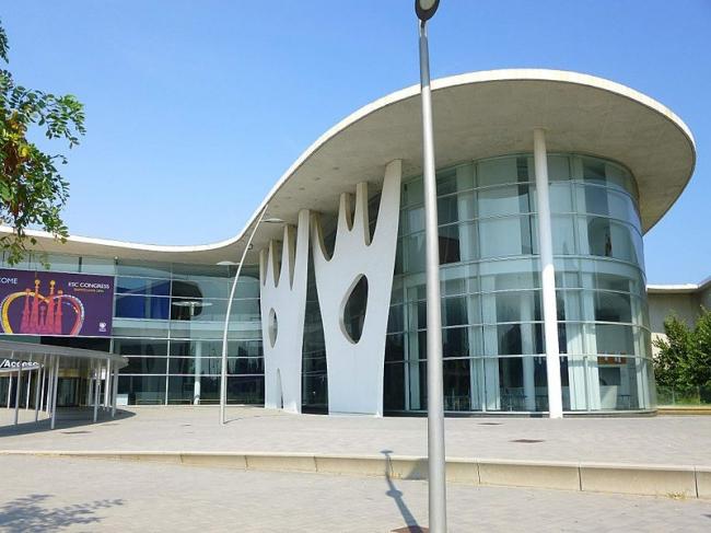 Выставочный комплекс Fira 2. Фото: Zarateman via Wikimedia Commons. Фото находится в общественном доступе