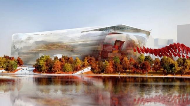 Китайский национальный музей искусств - NAMOC © Ateliers Jean Nouvel / Beijing Institute Architecture Design (BIAD)
