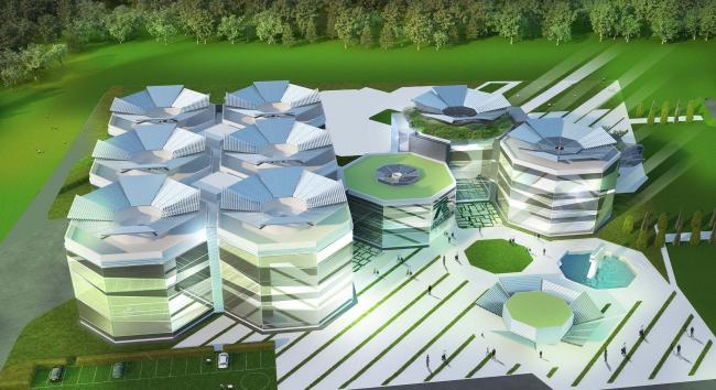 Многопрофильный научно-технический центр в Сколково